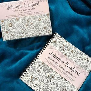 BNWT Johanna Basford colouring calendar set